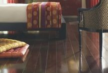 Hardwood Flooring / Hardwood is the classic option for wood flooring. After all, it's made from wood itself, so the appearance is 100 percent authentic.
