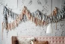 Garlands and Backdrops / Beautiful ways to celebrate everyday / by Life's Collections