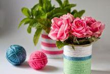 DIY / Craft Ideas / Manualidades y craft facil y paso a paso. Craft Inspiration