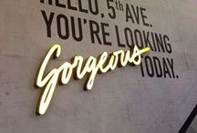 Typography / Lettering / Calligraphy / Signage