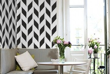 Cuckoo 4 Walls / My favorite thing is to play around with different wall treatments. This is an inspiring collection of Pinterest's best wall treatments and ideas
