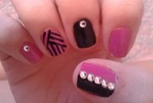 my nail art / my very own artwork! / by Esther Hudock