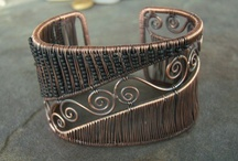 Love the Wire- Bracelets, Arm Bands, Anklets / by Lisa Albus Guess