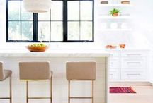 Cuckoo 4 Kitchens / Lots of stylish inspiration for the kitchen. From modern to Scandinavian and boho!