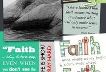 Faith works / by Chelsea Padula Pacheco