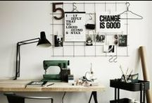 Zona de trabajo & escritorios