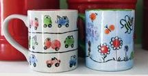 Hand Painted Holidays / Paint-your-own Pottery, ceramics, girls night out, holiday ideas, Christmas