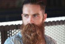 Manly beard board.