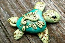 Clay, molds, and stuff / Ideas for using clay / by Susan Halbert-Lester