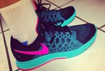 Running + Cross-Training Shoes / A board for neon sneaker lovers :)