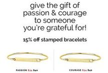 Inspirational Fashion / Show your courage and your gratitude with this fashionable clothing and exquisite jewelry sharing messages of courage, passion and empowerment from Create Your Life Coaching!  10% of the sales are donated to The Peace House  to help put an end to domestic violence.