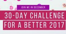 30-Day Challenge For a Better 2017 / A challenge for authors to optimize the new year.