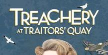 School Musical - Treachery at Traitors' Quay / Treachery At Traitors' Quay, Out of the Ark Music, school musical, leavers musical, large school play, world war two musical, teaching tips, crafts for kids, ww2, world war two lessons, world war two costumes, DIY costumes, 1940s