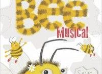School Musical - The Bee Musical / Out of the Ark Music, The Bee Musical, school musical, spring and summer term musical, large school play, teaching tips, educational activities, crafts for kids, DIY costumes, songs about bees, songs about the environment, facts about bees, outdoor activities for kids, music for schools, ark music, primary songs. For more information about this delightful and educational musical, please visit: http://www.outoftheark.co.uk/the-bee-musical.html