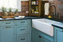 New/Old Bungalow Kitchen / by Joy Buck