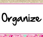 Organize ♥ / Organizing Ideas, Home Organization, Shelving Ideas, How to Organize your Home, and more!