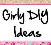 Girly DIY Ideas ♥ / Girly Things that I want to try to make!