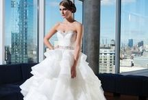 Ruffles, Feathers and Bows / All show stopping wedding dresses have a major focal point that can include a bow, feathers, or ruffles. Take a look at these and you'll leave your guests speechless with one of these dramatic wedding dresses.