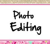 Photo Editing ♥ / Lots of photo editing ideas for digital photography. Tons of SOOC and After pics.