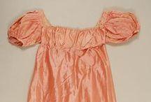 1800-1820 Regency - Petticoats, Slip Dresses, & Pockets