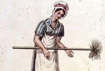 1800-1820 Regency - Working Wear