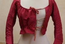 1750-1799 Georgian - Mismatch Short Top & Petticoat
