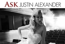 Ask Justin Alexander / Do you have any doubts or questions about your wedding dress? Send your question to live@justinalexander.com and we'll post his response on our blog!  / by Justin Alexander