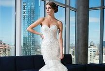 Justin Alexander Signature Spring 2014 / Justin Alexander Signature reinvents glamorous elements from the Hollywood golden era and modernizes them for the 21st century bride.