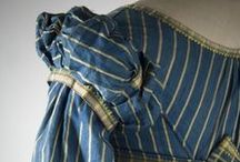 Project: Blue Striped Sarcenet Regency Gown