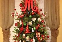 Christmas tree decoration ideas / by M Restaurant at The Morris House Hotel