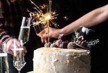Celebrate New Year / Sweet Savoury & Drinks