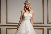 Sweetheart Neckline Wedding Gowns / by Justin Alexander
