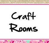 Craft Rooms ♥ / Awesome craft rooms and decor/organization ideas for your craft rooms!