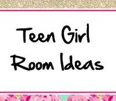 Teen Girls Rooms ♥ / Lots of Bed, Decor, and Desk Inspiration pics!