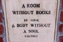 Books. Libraries and Soul / A room without books is like a body without a soul