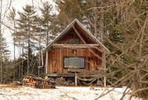 Forest & Wood Cabin love / by Catherine Gagne