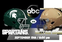 ND in East Lansing / by Notre Dame Athletics