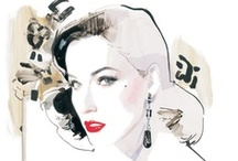 I~ David Downton / David Downton (1959) is a fashion illustrator. He worked for Vogue. / by Dejan Bogdanovic