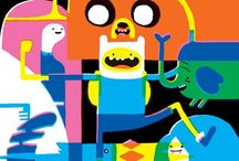 Adventure Time Party & everything / by Ellisha Johanabas