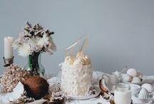 White Desserts / white food, white dessert, white cake, white yogurt, white drinks, white cookies, white chocolate