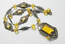 Fabulous vintage Czech jewelry