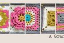 Craftyminx Granny a Day sampler / CAL Crochet a Long