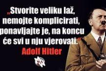 Adolf Hitler i nacistička Njemačka / Iako mnogi misle kako je nacizam stvar prošlosti, naše moderno društvo koje vode psihopati je u mnogo čemu nalik tvorevini kojoj je stremio Adolf Hitler. Je li moguće da iz povijesti ništa nismo ništa naučili, pa je moramo ponavljati?