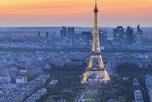 Paris et l'amour / A mix of Paris, France, Eiffel Tower, Love, Hearts
