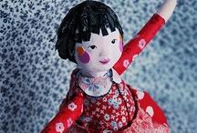 art dolls & sculptures / by Nina Yasakova