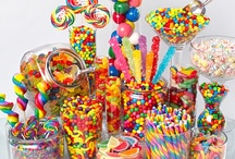 Candy themed Party ~ Candy Buffets ~ Candy Tables ~ Kindergarten Graduation Party Ideas / Sugary Sweet Treats