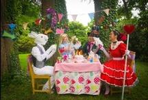 Alice in Wonderland & Mad Hatter's Tea Party Unbirthday