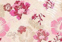 Design-Patterns, Textiles & Wallpaper / Pattern Design, Wallpaper Design, Repeat Patterns, Furnishing fabrics, Textiles
