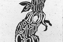 Design-Typography & Fonts / Design, typography, typo, illustration, fonts, typefaces