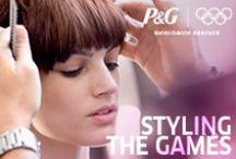 Styling the Games / P&G has brought together an international team of Wella colorists and stylists for the London 2012 Olympic Games with one mission: bring beauty transformation to the athletes and their moms! Here you'll find some of the spectacular looks and how-to's created at the P&G Salon at the Wella Studio in London!